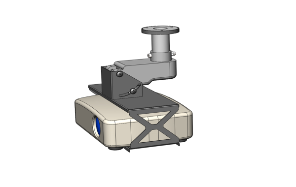Motorized bracket LSM
